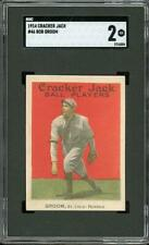 1914 Cracker Jack #46 Groom - St. Louis Federals - SGC 2