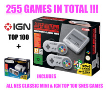NEW OFFICIAL SNES Classic Mini with NES MINI GAMES 2 Consoles in 1!! MARIO KART