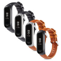 For Xiaomi Mi Band 3 Replacement Leather Formal Wrist Watch Bands Bracelet Strap