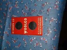 Vintage Woolco Needle Book 3 Needles Made in England Redditch Needles