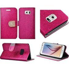 Fundas con tapa brillante de piel para teléfonos móviles y PDAs
