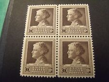 US Postage 1940 Jane Addams Famous American-Scientist Scott 878  4-10Cent Stamps