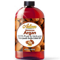 Artizen Moroccan Argan Oil - 4 Ounce Bottle (100% PURE & NATURAL)