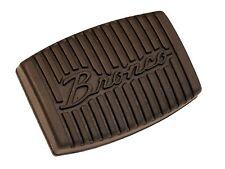 1966-1979 Ford  Bronco Script Clutch & Brake Pad Perfect Fit Interior