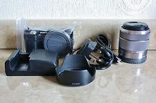 Sony Alpha NEX-5 14.2 MP Digital Camera + SEL 18-55mm lens - BLACK