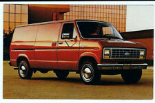 Post card 1983 Ford Econoline, Fred Martin Ford, Youngstown, Ohio 3-1/2X5-1/2 in