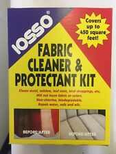 IOSSO Fabric Cleaner & Protectant Kit Mold Mould Mildew Tent Canvas Awning Water