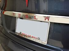 "Tesla Model S Tailgate TESLA Letters (7/8"" wide) Decal - Matte Red"