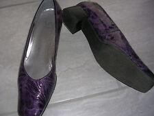 Schuhe Pumps Via Milano Echt Leder Größe 6 NEUWERTIG