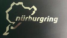 Nuburgring Chrome Decalcomania 150 mm Track Day RACE DRIFT TUNING Corpo Styling Sport