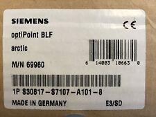 Siemens Hipath Optipoint Belegtlampenfeld BLF Arctic   Rechnung Mwst.