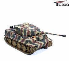 RC Panzer Tiger I mit Metallunterwanne Späte Version 1:16 Sommertarn 2.4GHz RTR