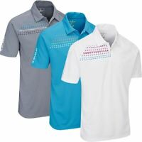 Stuburt Golf Mens Sport Tech Sassay Moisture Wicking Golf Polo Shirt