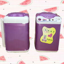 Puppenhaus Waschmaschine Waschmaschine Wäsche Wohnmöbel Geschenk für Barbie ZP