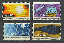 Scott #2006-09 Used Se-Tenant Set of 4, Knoxville World's Fair