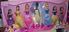 #8798 NRFB Mattel Disney 2009 Target Ulitmate Disney Princess 7 Doll Collection