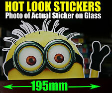 MINION Car Sticker Bomb Despicable Me Family Movie DVD Decal Wall Car Window