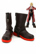 Fullmetal Alchemist Edward Elric Cosplay Shoes Anime Boots