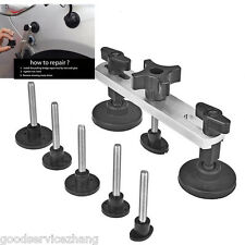 7 X Paintless To Use Car Dent Repair Tool Kit  Body Panel Work Puller Remover