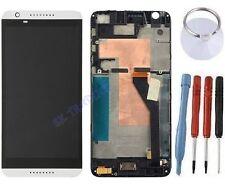 ECRAN LCD + VITRE TACTILE SUR CHASSIS BLOC COMPLETE POUR HTC DESIRE 820 BLANC