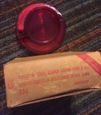 64 Impala Rear Taillight Tail Light Lamp Lens (w/o Trim) Only 5955333