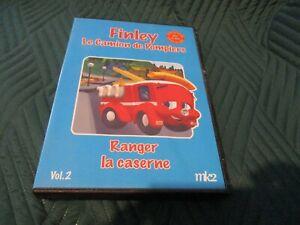 """DVD """"FINLEY, LE CAMION DE POMPIERS, VOLUME 2 : RANGER LA CASERNE"""" dessins animes"""