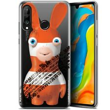 """Coque Pour Huawei P30 Lite (6.2"""") Lapins Crétins™ On the Road - Antichoc - Gel"""