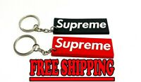 New Supreme Keychain 2 Pack Red&Black GET 2 FOR THE PRICE OF 1