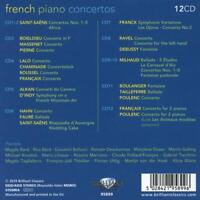 FRENCH PIANO CONCERTOS -    12 CD NEW+