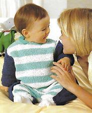 Mono Bebé/rompersuit Tejer patrón recién nacido, 3 Mths, 6/9 mths Aran Boucle 162