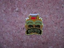 PINS MICHAEL JACKSON PEPSI  DANDEROUS WORLD TOUR  1992 TBEG