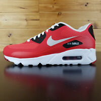 c434599c527 Nike Air Max 90 Ultra Essential White Red black 819474-600 training Shoes  SIZE 6