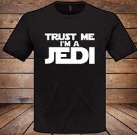 Trust Me im a Jedi T-Shirt Funny Mens womens Xmas Christmas Gift Present