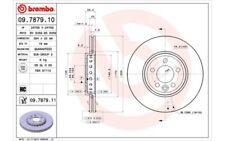 1x BREMBO Disco de freno delantero Ventilado 284mm Para ROVER 75 09.7879.11