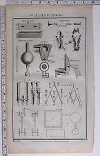 1788 ORIGINAL PRINT ORGAN PIPES PENTAGRAPH GLANDERS AEOLUS HARP ICE HOUSE etc