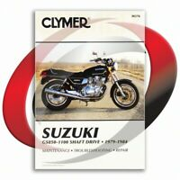 1981 Suzuki GS1000GL Repair Manual Clymer M376 Service Shop Garage Maintenance