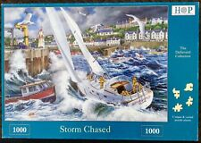 """House of Puzzles HOP """"Storm Chased"""" 1000 Piece Jigsaw Complete"""