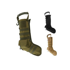 Tactical Molle Holiday Christmas Stocking Xmas Snowman Sock Dump Drop Pouch