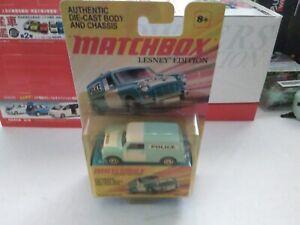 Matchbox 2011 Austin Mini van <Police> excellent condition in sealed box