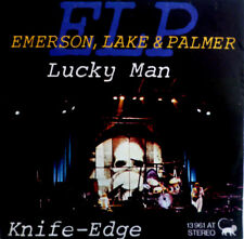 """7"""" 1975 ri culto! Emerson Lake & Palmer Lucky Man MINT -?"""