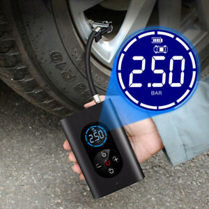 USB Electric Air Pump Auto For Car Bicycle Tire Balls Smart Pump 150PSI Wireless
