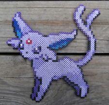 Espeon Pokémon Pixel Art Perler Bead Art