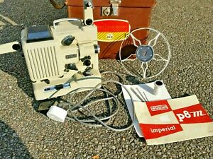 Eumig P8 M Imperial 8mm film projector with audio tape sync.