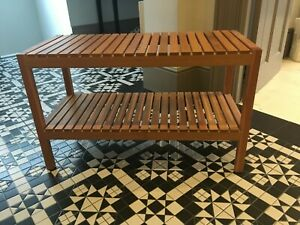 Ikea wooden bench - Immaculate condition
