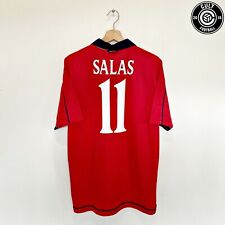 Salas #11 Chile Vintage Umbro Hogar Camiseta De Fútbol 2000/02 (L) Lazio Juventus
