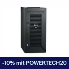 Dell PowerEdge T30 Minitower Komplett-PC Xeon E3-1225V5 3,3Ghz 8GB RAM 1TB HDD