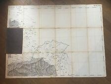 1870-MONTE PENNA-QUADRO D'UNIONE DELLA GRAN CARTA DEGLI STATI SARDI