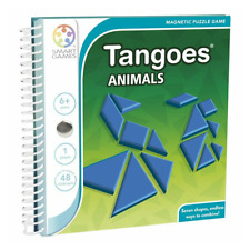 Smart Games Tangoes Animals Magnetic Travel Game for 1player