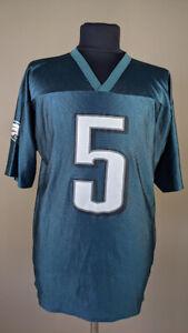 Vintage Philadelphia Eagles Donovan McNabb Jersey Sz L NFL Football Green 90s