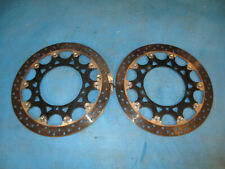 YAMAHA R1 4C8 YZF-R1 2007 2008 FRONT BRAKE DISCS & BOLTS
